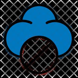 Cloud Block Icon