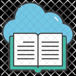 Cloud Book Icon