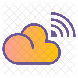 Cloud Broadcast Icon