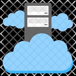 Cloud Computing Platform Icon