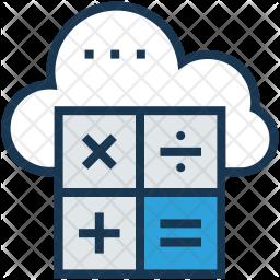 Cloud Computingvv Icon