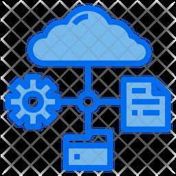 Cloud Connection Dualtone Icon