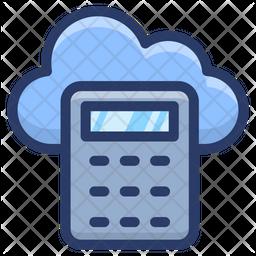 Cloud Cost Calculator Icon