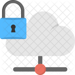 Cloud Data Security Icon png