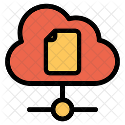 Cloud Document Icon