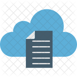 Cloud Documents Icon