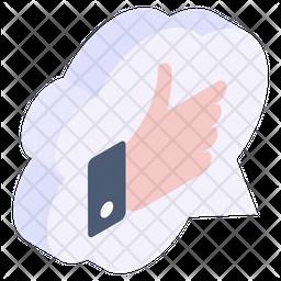 Cloud Feedback Icon