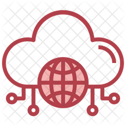 Cloud Internet Dualtone Icon