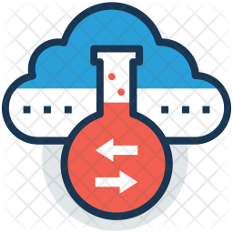 Cloud lab Icon
