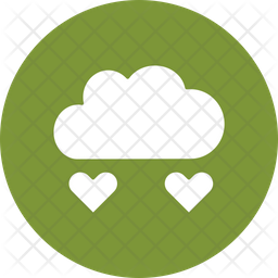 Cloud Love Icon
