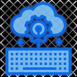 Cloud Management Dualtone Icon