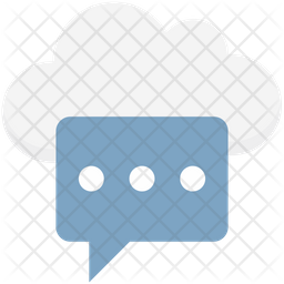 Cloud Messaging Icon