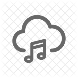 Cloud Music Icon Of Line Style Available In Svg Png Eps Ai Icon Fonts