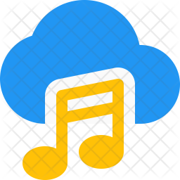 Cloud Music Icon Of Flat Style Available In Svg Png Eps Ai Icon Fonts