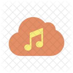 Cloud Music Server Icon Of Flat Style Available In Svg Png Eps Ai Icon Fonts