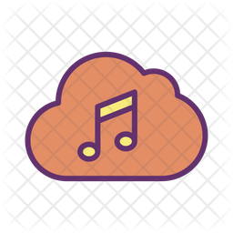 Cloud Music Server Icon Of Colored Outline Style Available In Svg Png Eps Ai Icon Fonts
