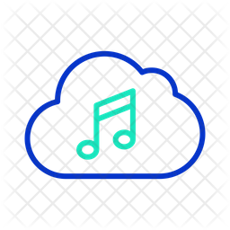 Cloud Music Server Icon Of Line Style Available In Svg Png Eps Ai Icon Fonts