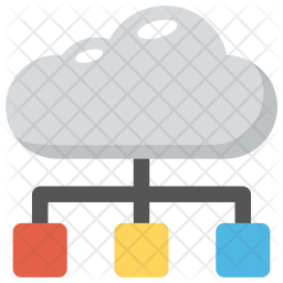 Cloud Network Icon png