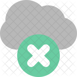 Cloud Removed Icon