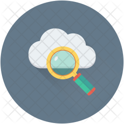 Cloud Search Icon