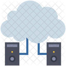 Cloud Server Connection Icon