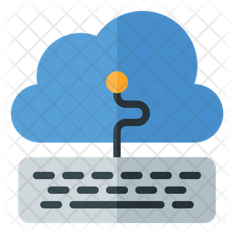 Cloud Service Flat Icon
