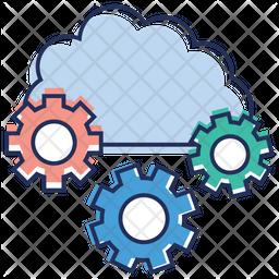 Cloud Settings Icon