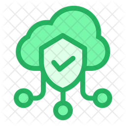 Cloud Shield Icon