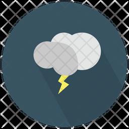 Cloud Thunderbolt Icon