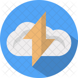 Cloud thunderstorm Icon