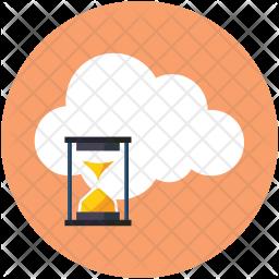 Cloud timeout Icon