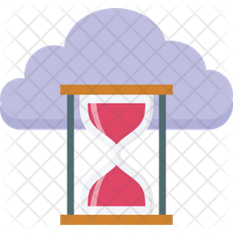 Cloud Timer Icon