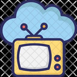 Cloud Transmission Icon