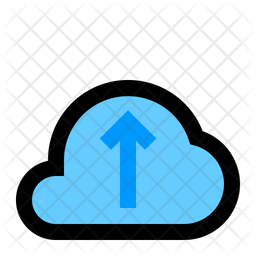 Cloud Upload Icon Of Colored Outline Style Available In Svg Png Eps Ai Icon Fonts
