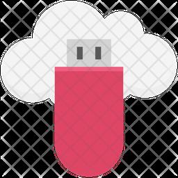 Cloud Usb Icon