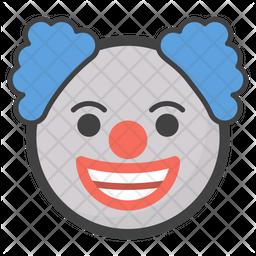 Clown Emoji Icon