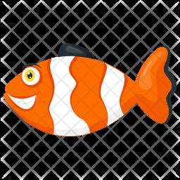Clown Fish Icon