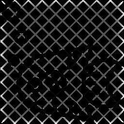 Clownfish Line Icon
