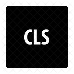 Cls file Icon