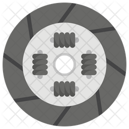 Clutch Plate Icon