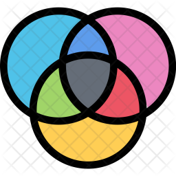 Cmyk Icon Of Colored Outline Style Available In Svg Png Eps Ai Icon Fonts