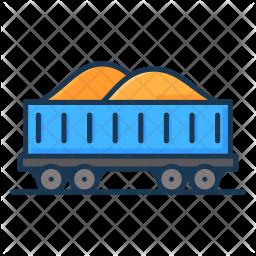 Coal container Icon