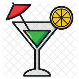 Cocktail Icon Of Colored Outline Style Available In Svg Png Eps Ai Icon Fonts