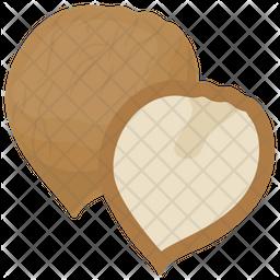 Coconut Flat Icon