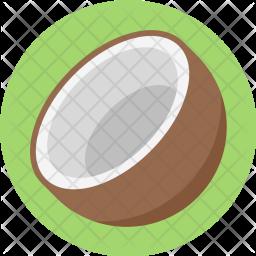 Coconut, Coco, Healthful, Fruit, Beverage, Food, Gastronomy Icon