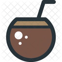 Coconut, Drink Icon