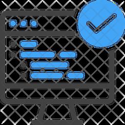Code verified Icon