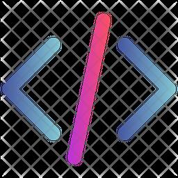 Coding Gradient Icon