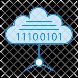 Coding cloud Icon