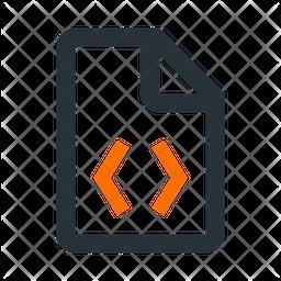 Coding Document Icon